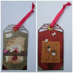 Recipe for 2-Sided Mixed Media Tags