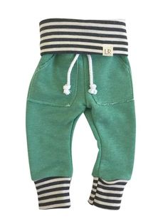 Mint & Gray Stripe Sweats – Lulu and Roo