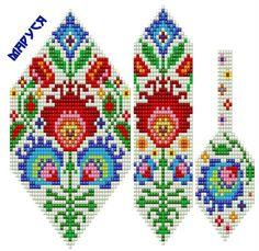 images attach d 1 130 951 Beading Patterns Free, Bead Loom Patterns, Peyote Patterns, Cross Stitch Designs, Cross Stitch Patterns, Beaded Embroidery, Embroidery Patterns, Bead Loom Bracelets, Tear