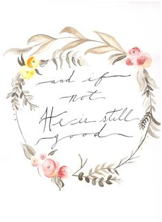 He is still good Vertical Floral by GoldenfieldsCreative on Etsy