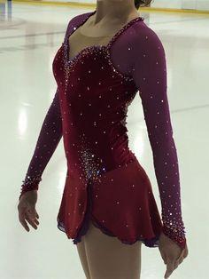 Custom West Side Story Figure Skating Competition Dress by Josiane: Adult XSmall #CustombyJosianeLamonde