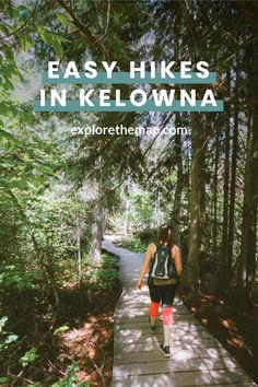 Looking for easy hikes in Kelowna? Check out these awesome hikes that are perfect for all skill levels. You'll love your next adventure! West Coast Road Trip, Single Travel, Canadian Travel, Travel Goals, Go Camping, Hiking Trails, Belle Photo, British Columbia, Travel Guides