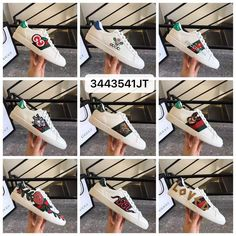 Gucci woman man leather shoes ace sneakers Leather Men, Leather Shoes, Man Shoes, Gucci Shoes, Woman, Sneakers, Cards, Leather Loafers, Tennis Sneakers
