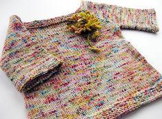 Sock Yarn Sweater - Childs Version pattern by Hannah Fettig