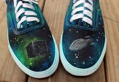 34d48caade VincentVanGogh Vincent Van Gogh Starry Night Vans Custom Vans Hand ...