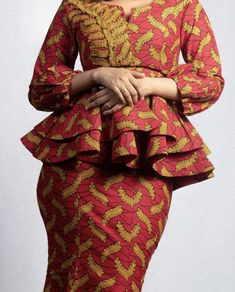 Latest African Fashion Dresses, African Dresses For Women, African Attire, African Wear, African Print Clothing, African Print Dresses, African Print Fashion, African Formal Dress, African Traditional Dresses