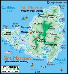 St. Martin (French West Indies and Sint Maarten (Netherlands Antilles)