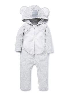 Dirty Fingers Long Sleeve Bodysuit Baby grow I/'m a Cuddly Koala Bear Australia
