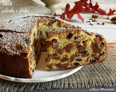 Torta polenta e fichi Simply Recipes, Sweet Recipes, Cookie Recipes, Dessert Recipes, Sweet Corner, Torte Cake, Gateaux Cake, Plum Cake, Breakfast Cake