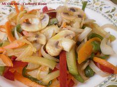 Mi cocina: WOK DE VERDURAS SALTEADAS