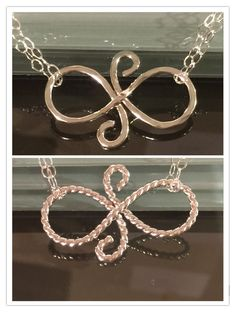 friendship symbol necklace, Gift Best Friends - Eternal Friendship Sterling Silver - Gift Girlfriends Bridesmaids by EllynBlueJewelry on Etsy https://www.etsy.com/listing/182762841/friendship-symbol-necklace-gift-best