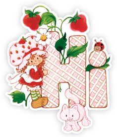 Strawberry Shortcake Wall Graphics from Walls Strawberry Shortcake Hi Strawberry Shortcake Characters, Vintage Strawberry Shortcake Dolls, Strawberry Shortcake Party, Rainbow Brite, Holly Hobbie, 3rd Birthday, Paper Dolls, Christmas Fun, Childhood Memories