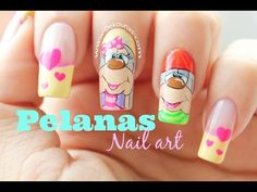 Decoración de uñas Osos - Bear nail art - YouTube