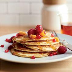 Flax-Coconut Pancakes