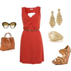 outfit for spring or summer. cute!