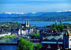 Zurich, Switzerland (Dolder Grand Hotel, Bahnhofstrasse, Lindt chocolate truffles -- go there, it's great!)