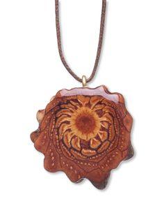 Third Eye Pinecone Natural Necklace