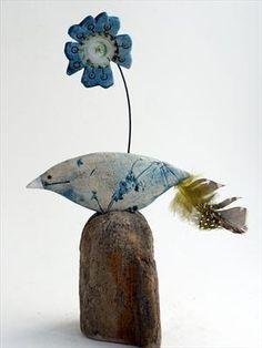 Bird and Flower - Shirley Vauvelle