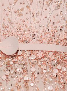 Georges Hobeika Couture S/S 2015. Details