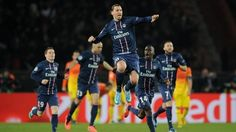 Blaise Matuidi scored deep into the stoppage time to hold Barca to a draw in a thrilling Champions League first leg at the Parc des Princes. Psg, Champions League, Finals, Barcelona, League News, Paris Saint, Saint Germain, Goal, Deep
