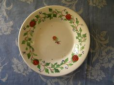 Strawberry Bowls, Strawberries, Hand Painted, Awesome, Tableware, Handmade Gifts, Red, Collection, Beautiful