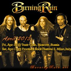 Burning Rain - April 2015