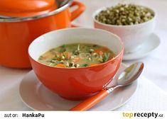 Hrachová polévka s hráškem recept - TopRecepty.cz Thai Red Curry, Ethnic Recipes, Food, Essen, Meals, Yemek, Eten