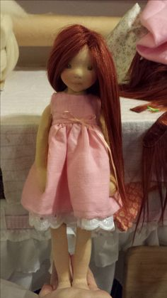 A Christmas doll for my daughter.
