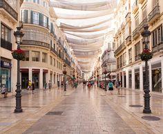 Calle Marqués de Larios, Málaga, Spain