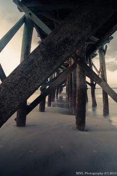 Isle of palm fishing pier.