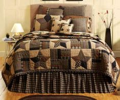 Country Sampler Bedding and Quilts | Country Bedding, Primitive Bedding, Country Style Quilts