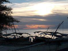 Coucher de soleil à Mahajanga