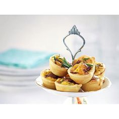 Bacon and egg mini tarts recipe. While the kids are baking, whip up these savoury delights to round off a splendid afternoon tea.
