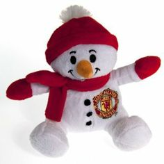 """Manchester United F.C. Snowman by Official Licensed Product. $5.00. MANCHESTER UNITED F.C. Snowman 6"""" Official Licensed Product"""