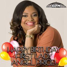 Happy Birthday First Lady Angel!