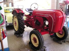 1960 Porsche-Diesel Standard tractor.     Many of the world's most famous luxury/exotic carmakers got their start on farm equipment!