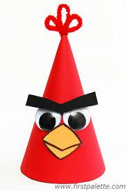 Trendy Angry Bird Crafts For Kids Ideas Crazy Hat Day, Crazy Hats, Mad Tea Parties, Angry Birds, Hat Crafts, Bird Crafts, Paper Hat Diy, Easter Hat Parade, Mad Hatter Costumes