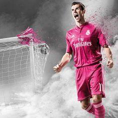 Equipacion Real Madrid segunda 2014-2015