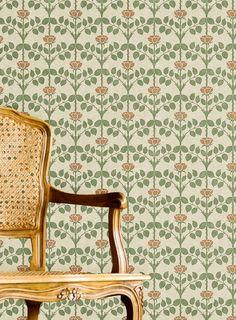 Designer Wallpaper Online Store for USA & Canada Wallpaper Online, Rose Wallpaper, Application Pattern, Sand Crafts, Briar Rose, English Artists, Arts And Crafts Movement, Pattern Art, Pattern Design