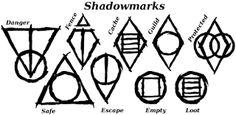 skyrim thieves guild symbols - Google Search