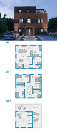 Alea 217 - schlüsselfertiges Massivhaus 3-geschossig #spektralhaus #ingutenwänden #3geschossig #Grundriss #Hausbau #Massivhaus #Steinmassivhaus #Steinhaus #schlüsselfertig #neubau #eigenheim #traumhaus #ausbauhaus