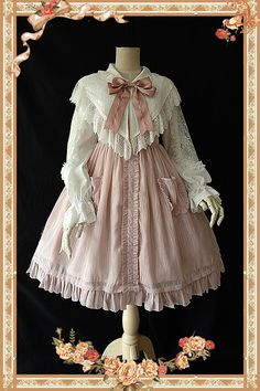 Infanta -Jenny Cookies- Pure Color Classic Lolita JSK Thin Version