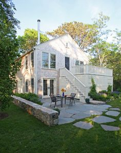 Cape Cod Renovation - traditional - exterior - boston - by Frank Shirley Architects