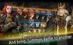 Build your own deck and summon creatures by circumstances