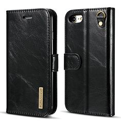 4e3fa6b48 Leather Bifold Wallet Phone Case Magnetic Back Case Protective Flip Cover  for Iphone Samsung Leather Bifold