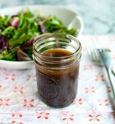 You'll never have to buy salad dressing again!  Make your own salad dressing: Balsamic Vinaigrette, Ranch,  Ginger,  and more