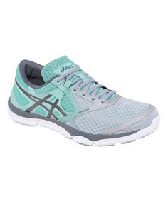 Another great find on #zulily! Charcoal & Mint 33-DFA Running Shoe #zulilyfinds