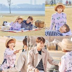 """Park Bo Young And Park Hyung Sik Enjoy A Picnic Date In New """"Strong Woman Do Bong Soon"""" Stills 