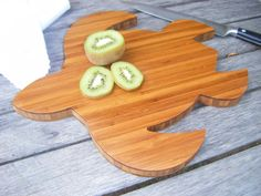 Bamboo Sea Turtle Cutting Board  Cheese Board  by BotanicalBoards, $39.00
