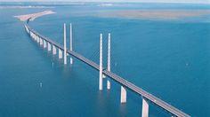 panorama-Oresund-Bridge-Lin  Oresund Bridge is a bridge that connects Amager and Oresund in Denmark (Zealand Island) to Skane, Sweden, the length of more than 10 stone (16.4 miles). - See more at: http://nexttriptourism.com/oresund-bridge-linking-denmark-dan-sweden/#sthash.7ISxXOnl.dpuf